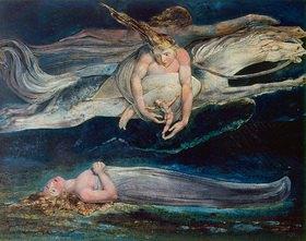 William Blake: Das Erbarmen. Aus der Zeichenfolge zu Dantes göttlicher Komödie