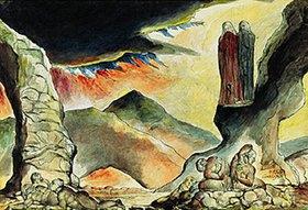 William Blake: Gesang der Hölle 29 & 30. Aus der Zeichenfolge zu Dantes göttlicher