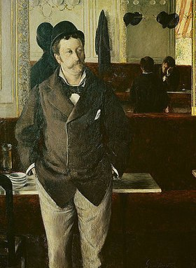 Gustave Caillebotte: Im Café