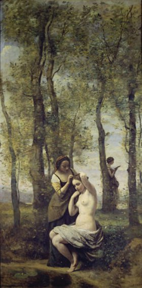 Jean-Baptiste Camille Corot: Die Toilette im Walde