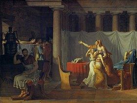 Jacques Louis David: Die Liktoren bringen Brutus die Leichen seiner Söhne