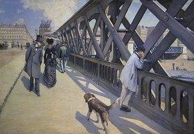 Gustave Caillebotte: Auf der Europabrücke