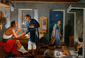 Johann König: Esau verkauft sein Erstgeburtsrecht für ein Linsengericht