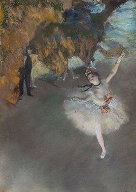 Edgar Degas: Der Star (Danseuse sur la Scene)