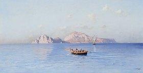 Friedrich Nerly: Blick auf Capri von der Nordseite