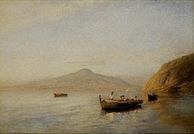 Albert Flamm: Fischer am Golf von Neapel