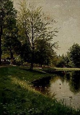 Peder Moensted: Spaziergang im Park