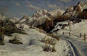 Peder Moensted: Winter im Engadin