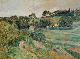Paul Cézanne: Landschaft in der Provence