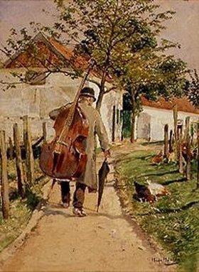 Hugo Mühlig: Musikant auf dem Heimweg