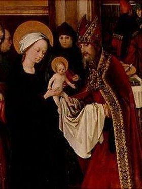 Hans Holbein d.Ä.: Die Beschneidung des Jesusknaben. (Detail)