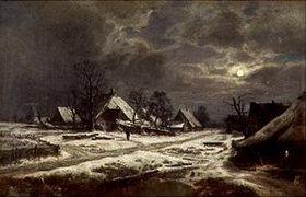 Otto Frölicher: Winternacht