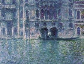 Claude Monet: Der Palazzo de Mula in Venedig
