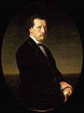 Wassili Perow: Bildnis Nikolai Rubinstein, Gründer des Moskauer Konservatoriums