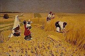 Nikolai Korniliew Pimonenko: Getreideernte in der Ukraine