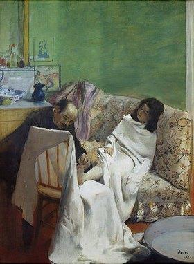 Edgar Degas: Die Pediküre