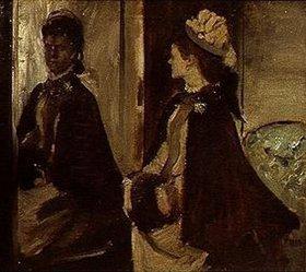 Edgar Degas: Madame Jeantaud vor dem Spiegel. Gegen