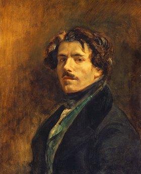 Eugene Delacroix: Selbstbildnis