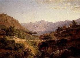 Louis Gurlitt: Die Bucht von Cattaro