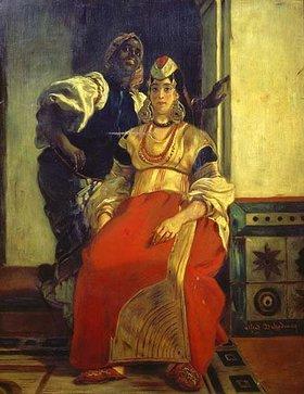 Alfred Dehodencq: Jüdische Braut in Marokko