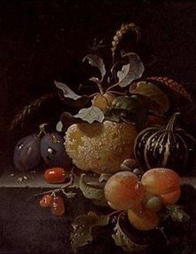 Abraham Mignon: Früchtestilleben