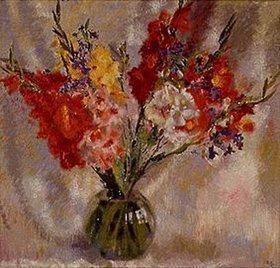 Antonio Augusto Giacometti: Gladiolen