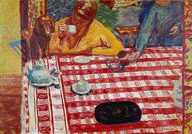 Pierre Bonnard: Am Kaffeetisch