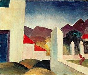 August Macke: Tunesische Landschaft