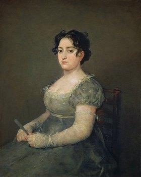 Francisco José de Goya: Die Dame mit dem Fächer
