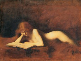 Jean-Jacques Henner: Die Lesende