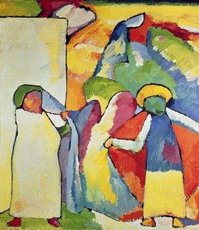 Wassily Kandinsky: Improvisation 6 (Afrikanisches)