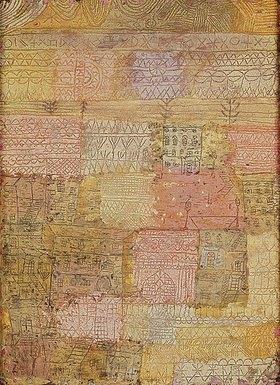 Paul Klee: Villenviertel in Florenz. 1926 W