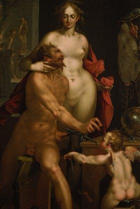 Bartholomäus Spranger: Venus in der Schmiede Vulkans