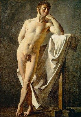 Jean Auguste Dominique Ingres: Anatomische Studie eines Mannes