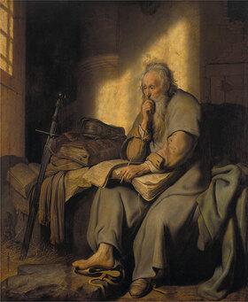 Rembrandt van Rijn: Paulus im Gefängnis