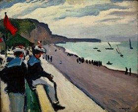 Albert Marquet: Blick auf den Strand von Fécamp