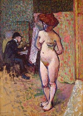 Albert Marquet: Matisse beim Malen im Atelier