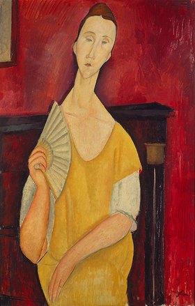 Amadeo Modigliani: Dame mit Fächer
