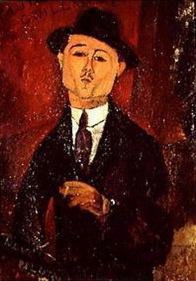 Amadeo Modigliani: Bildnis Paul Guillaume