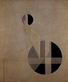 László Moholy-Nagy: Komposition A XX