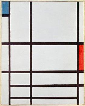 Piet Mondrian: Komposition II
