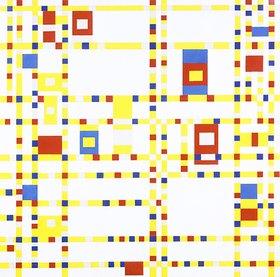 Piet Mondrian: Broadway Boogie-Woogie