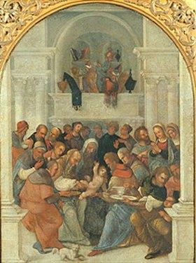 Ludovico Mazzolino: Die Beschneidung Christi