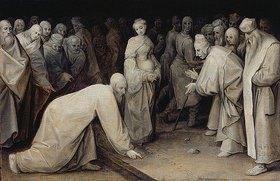 Pieter Brueghel d.Ä.: Christus und die Ehebrecherin. 1565 (?)