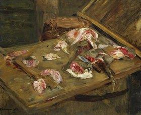Max Liebermann: Fleisch-Stilleben