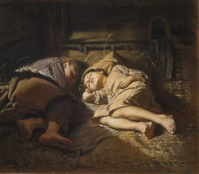 Wassili Perow: Schlafende Kinder