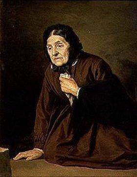 Wassili Perow: Bildnis einer alten Frau
