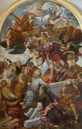Tintoretto (Jacopo Robusti): Himmelfahrt Mariae