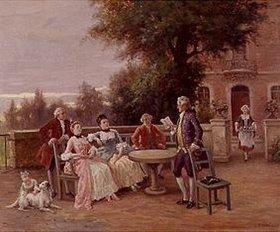 Französisch: Die Dichterlesung zur Teestunde
