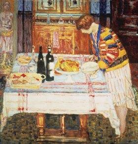 Pierre Bonnard: Nach dem Frühstück